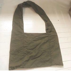 Anthropologie dark green  crossbody bag purse